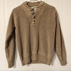 Cabela's Thick Brown Sweater